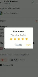 Rating given